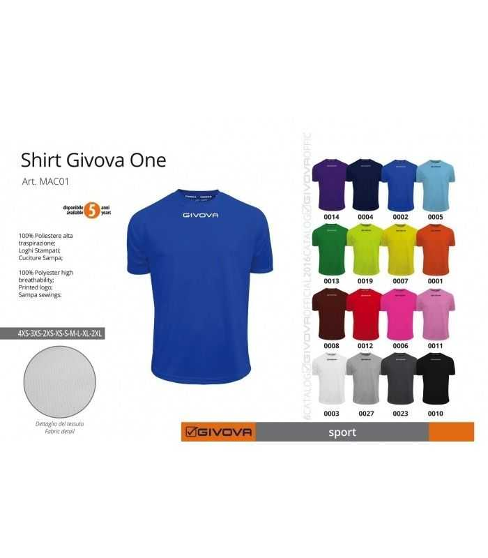 Shirt One GIVOVA-Camisetas