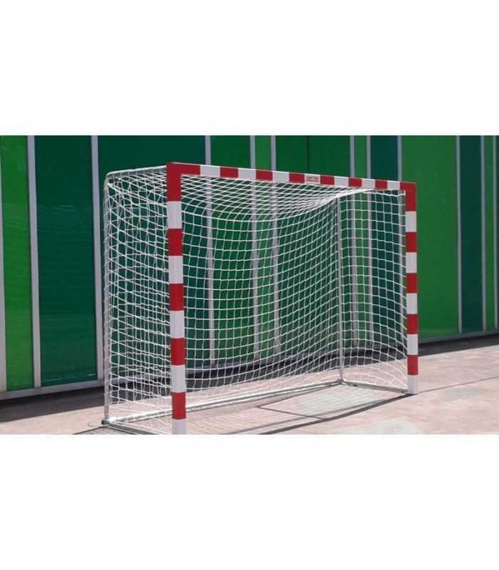 Juego de porterías de aluminio Fútbol sala - Balonmano-Equipamiento
