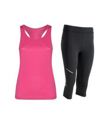 Conjunto Camiseta deportiva y mallas técnicas-Conjuntos mujer