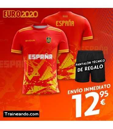 Camiseta España Euro2020-Sublimación